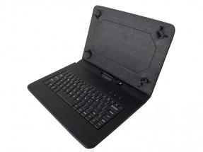 """Kožené puzdro s klávesnicou iget pre tablet 10"""", čierna"""