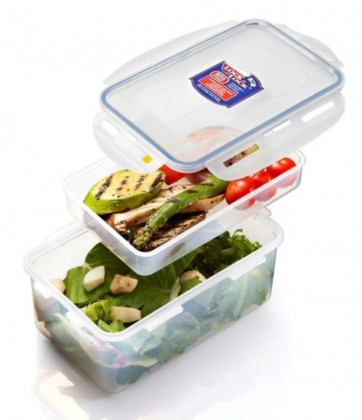 Krabičky na jedlo Dóza na potraviny Lock & Lock HPL817HI, priehradka, 1.4L