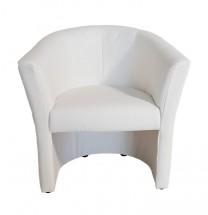 Kreslo Lecce biela