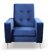 Kreslo Zara modrá