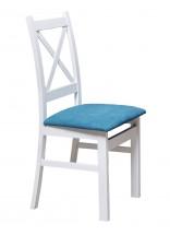 Křížák - Jedálenská stolička, čalúnená (aston19/mat)