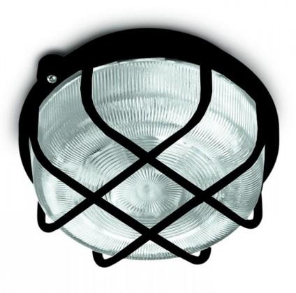 Kruh - Stropné svietidlo, E27, 100W (čierna)