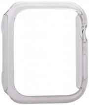 Kryt COTEetCI pre Apple Watch 4/5/6 44mm, polykarbonát, priehľad