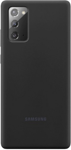 Kryt pre Samsung Galaxy Note 20, silikón, čierna