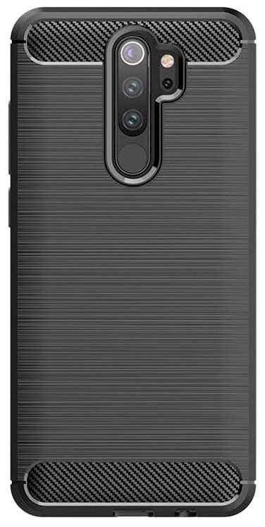 Kryty na Xiaomi Zadný kryt pre Xiaomi Redmi 9, Carbon, čierná
