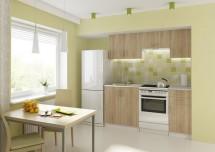 Kuchyňa Donald - 180 cm (dub sonoma/biela)