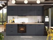 Kuchyňa Loft - 260 cm (šedá)