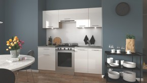 Kuchyňa Marija - 200 cm (biela/dub sonoma)