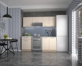 Kuchyňa Marija - 200 cm (vanilka/dub sonoma/biela)
