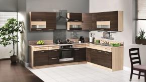 Kuchyňa Marina ľavý roh 285x210 cm - II. akosť