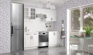 Kuchyňa Michelle - 220 cm (biela)