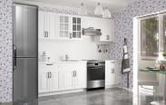 Kuchyňa Michelle - 260 cm (biela)