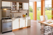 Kuchyňa Milly - 210 cm (vanilka/olše)