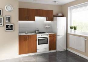 Kuchyňa Mouse - 180 cm (orech/biela)