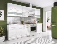 Kuchyňa Rio - 240 cm (biela)