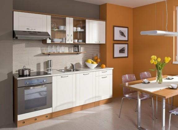 Kuchyne, jedálne ZLACNENÉ Aneta 210 B (jelša/vanilka)