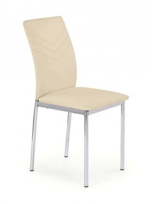 Kuchyne, jedálne ZLACNENÉ Jedálenská stolička K137 (béžová) - II. akosť