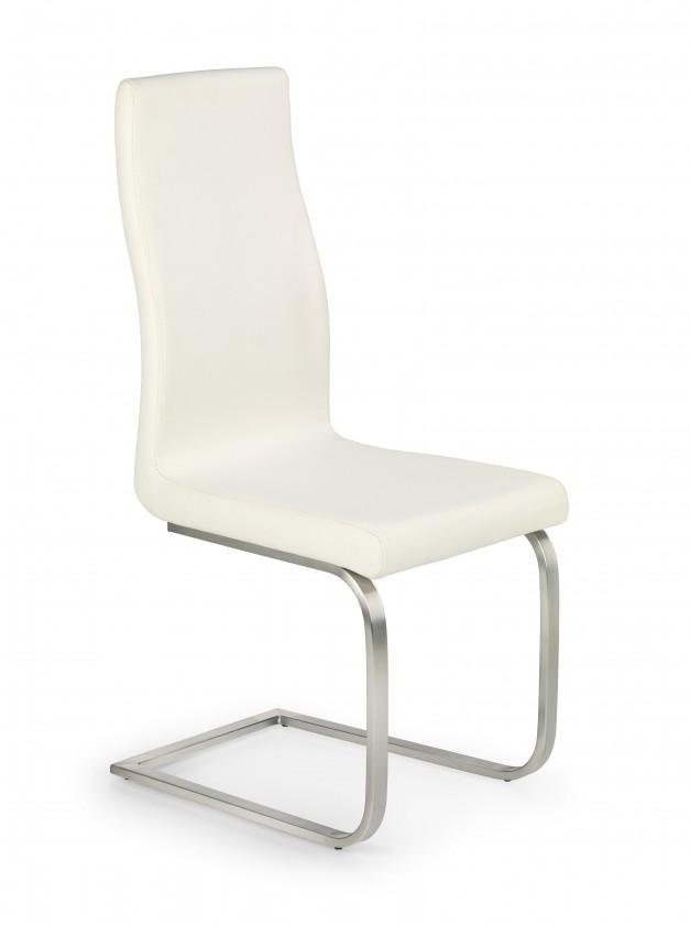 Kuchyne, jedálne ZLACNENÉ Jedálenská stolička K140 (krémová) - II. akosť
