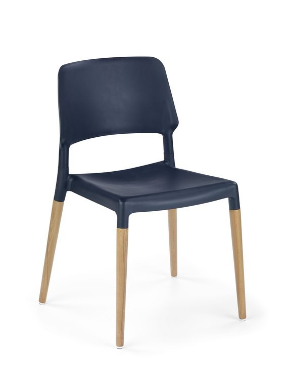 Kuchyne, jedálne ZLACNENÉ Jedálenská stolička K163 (čierna) - II. akosť