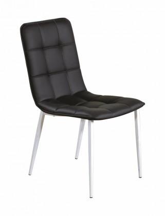 Kuchyne, jedálne ZLACNENÉ Jedálenská stolička K191 biela, čierna - ROZBALENÉ