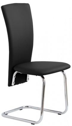 Kuchyne, jedálne ZLACNENÉ Jedálenská stolička K74 (čierna) - II. akosť