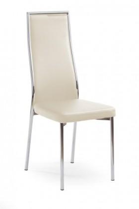 Kuchyne, jedálne ZLACNENÉ Jedálenská stolička K86 (tmavý krém) - II. akosť