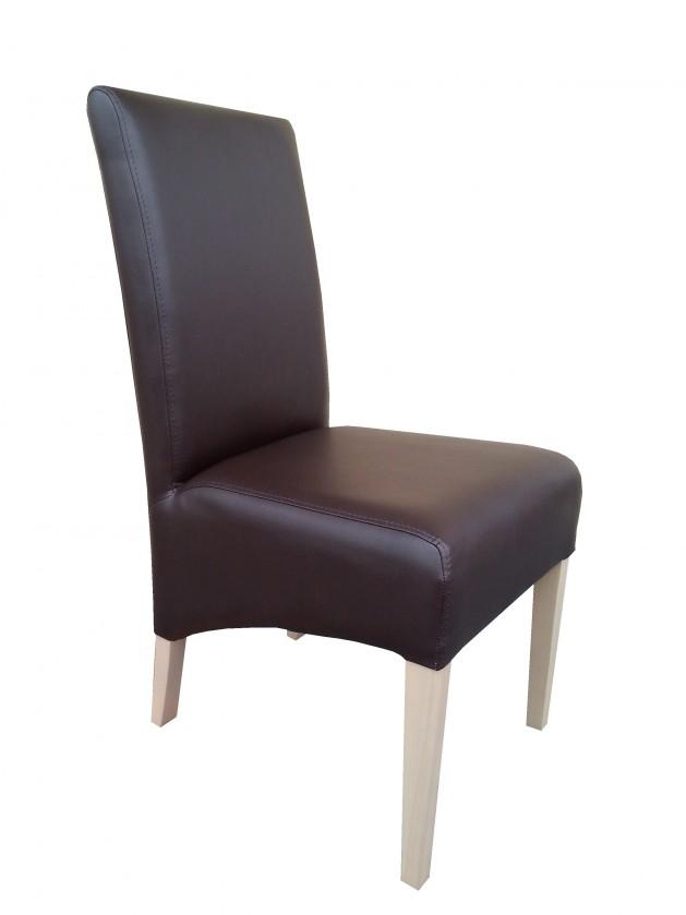 Kuchyne, jedálne ZLACNENÉ Jedálenská stolička Link dub sonoma/hnedá - VYSTAVENÉ
