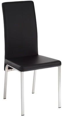Kuchyne, jedálne ZLACNENÉ Jedálenská stolička Miriam (čierna) - II. akosť