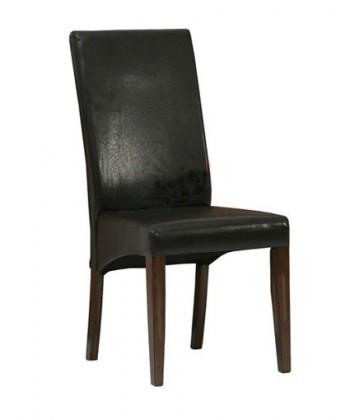 Kuchyne, jedálne ZLACNENÉ Jedálenská stolička (tmavo hnedá) - II. akosť