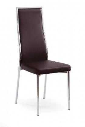 Kuchyne, jedálne ZLACNENÉ K86 - Jedálenská stolička (tmavo hnedá)