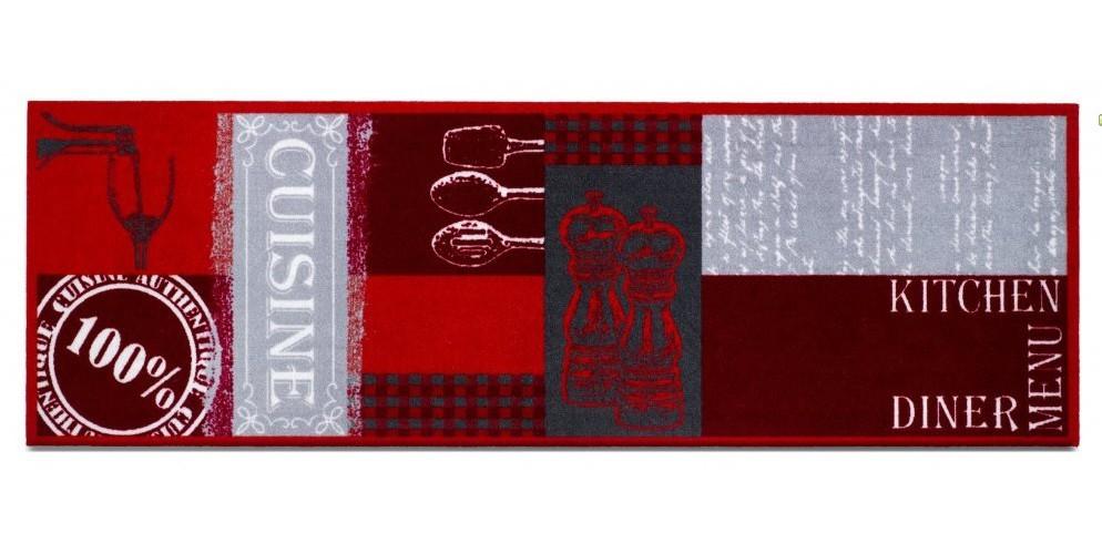 Kuchynská predložka Cuisine authebtique (červená)