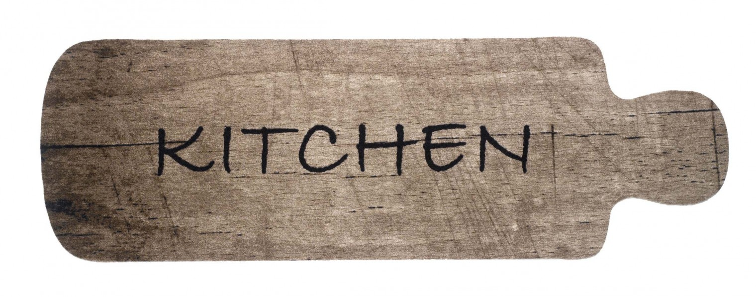 Kuchynská predložka cutting board (čierna, hnedá)