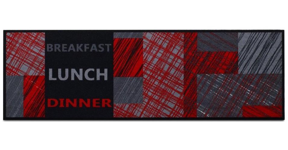 Kuchynská predložka Lunchred (červená)