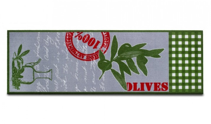 Kuchynská predložka Olives (sivá)