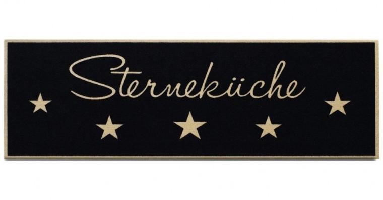 Kuchynská predložka Sternekuche (čierná)