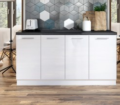 Kuchynská protilinka Emilia 160 cm (biela)