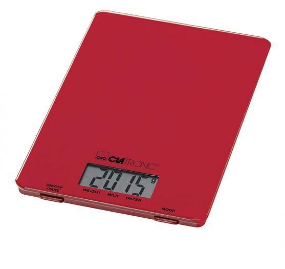 Kuchynská váha Clatronic KW 3626, červená