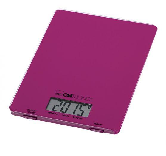 Kuchynská váha Clatronic KW 3626, purpurová