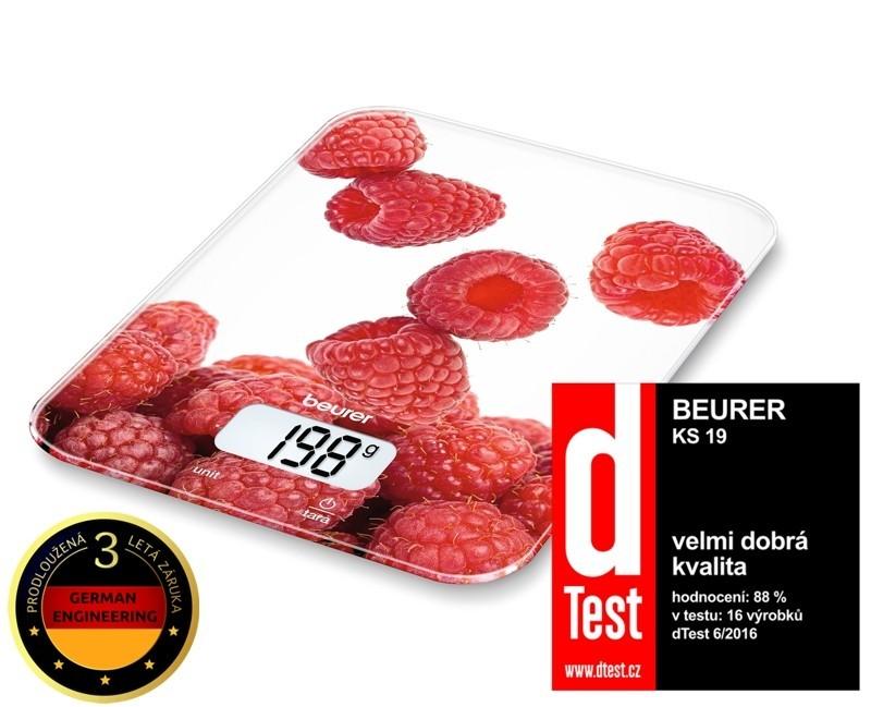 Kuchynská váha Kuchyňská váha BEURER KS 19 BERRY ROZBALENO