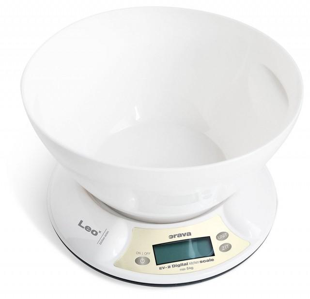 Kuchynská váha Kuchynská váha Orava EV-2, 5 kg, miska