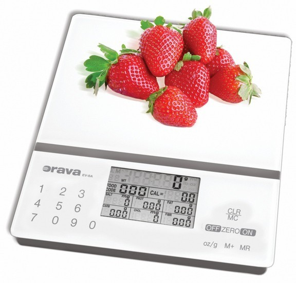 Kuchynská váha Kuchynská váha Orava EV-8 A, 5 kg, nutričné