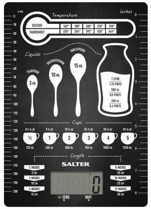 Kuchynská váha Kuchynská váha Salter 1171CNDR, 5kg
