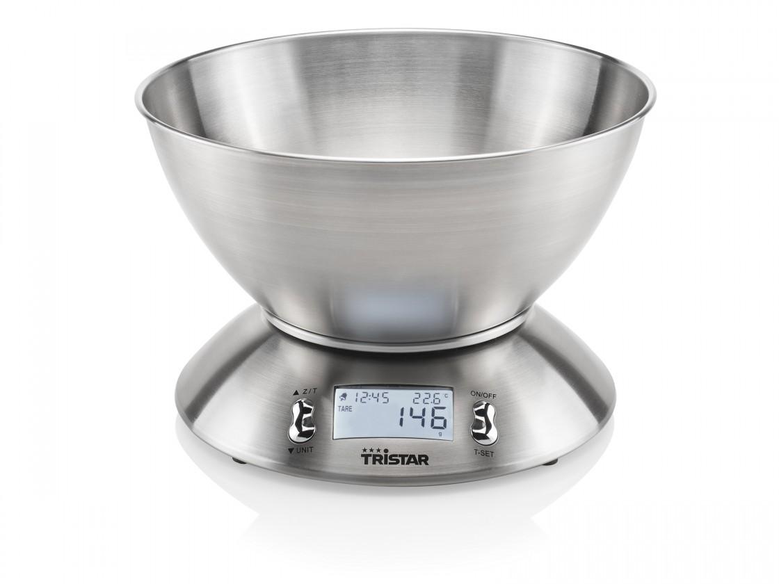 Kuchynská váha Kuchynská váha Tristar KW2436, 5 kg, miska
