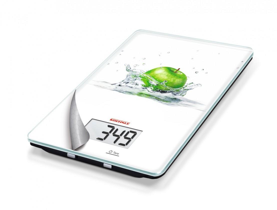 Kuchynská váha Mix&Match Fresh Apple (biela, zelená)