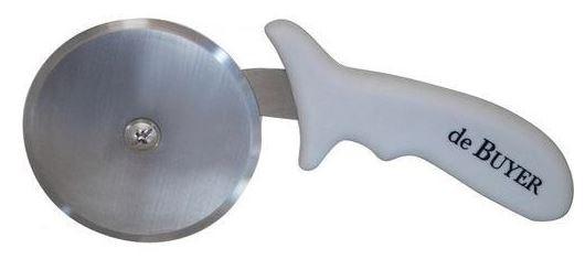 Kuchynské pomôcky Krájač pizze de Buyer 497010N, nerez, plastová rukoväť, 10 cm