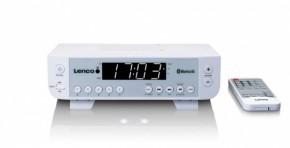 Kuchynské rádio Lenco KCR-100, biele
