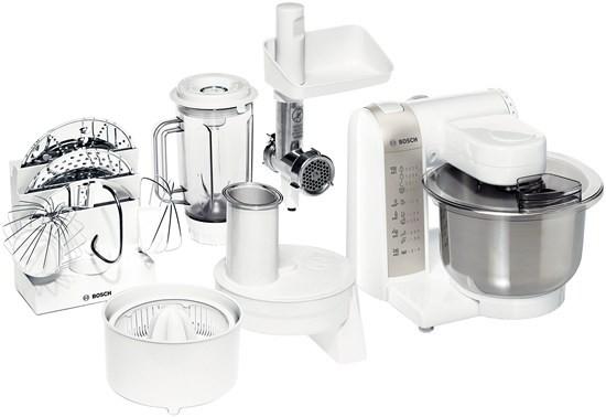 Kuchynský robot Bosch MUM 4880 VADA VZHĽADU, ODRENINY