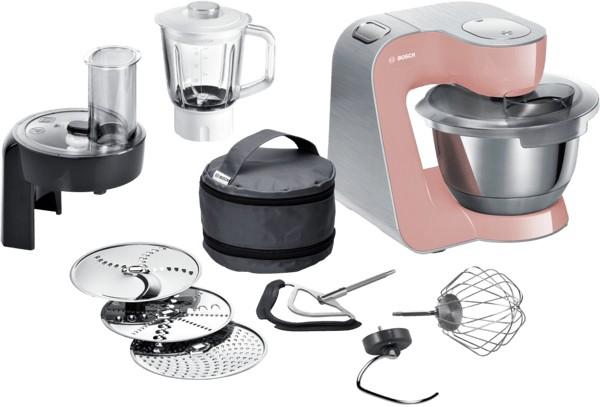 Kuchynský robot Bosch MUM58NP60,1000W,ružová