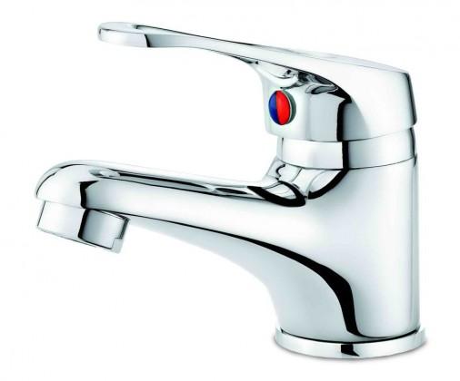Kúpeľne ZLACNENÉ Labo - Umývadlová batéria s automatickou výpusťou (chróm)