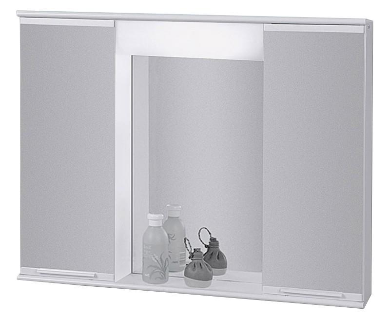 Kúpeľne ZLACNENÉ Zrkadlová skrinka 70x55, s osvetlením